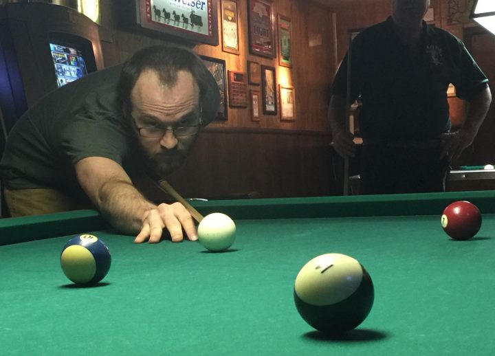 Petaluma Pool Table.