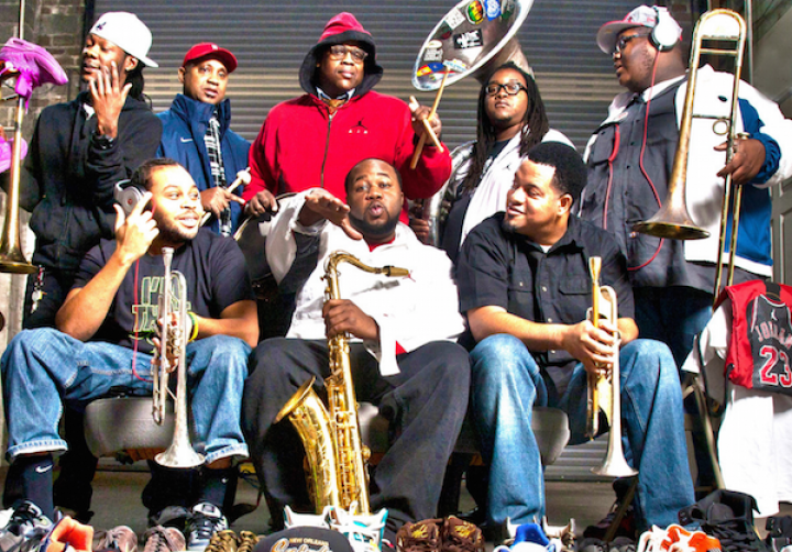 The Soul Rebels in Petaluma
